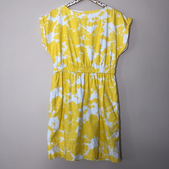 GAP Dresses & Skirts - Gap Yellow Floral Dress | Size Small
